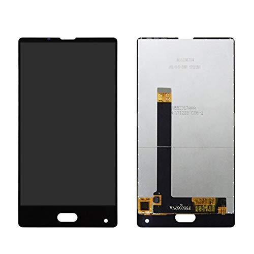 MOLIBAIHUO 5.5'Pulgada Compatible con Bluboo S1 Pantalla LCD + Pantalla táctil LCD Digitalizador de Pantalla de Vidrio con reemplazo de Marco + Herramientas gratuitas LCDs (Color : Black No Frame)