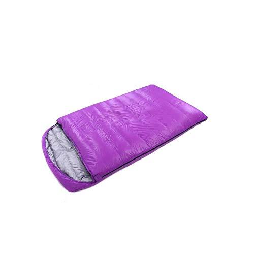 Les amateurs durables, perméables à l'air, éclairage extérieur intérieur enveloppe sac de couchage matelas de couchage camping printemps et l'automne robe confortable et chaleureux, bleu, 220 * 120 cm