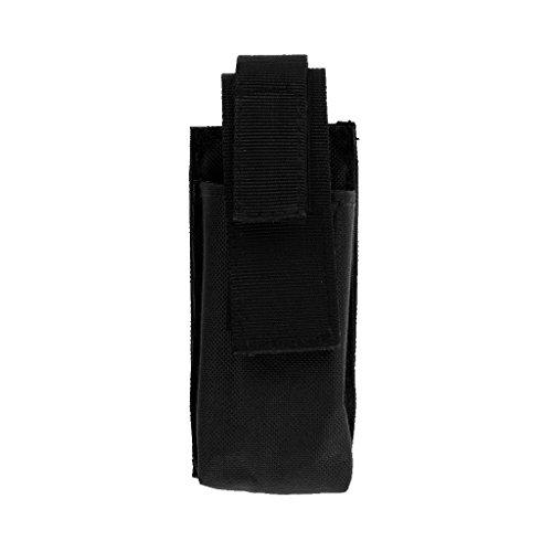Homyl Sac pour Garrot Poche De Rangement Portable Outil Cisaillère Médicale Boucle Réglable Pochette à Ciseaux Camping Randonnée - Noir, 130mm * 60mm * 35mm