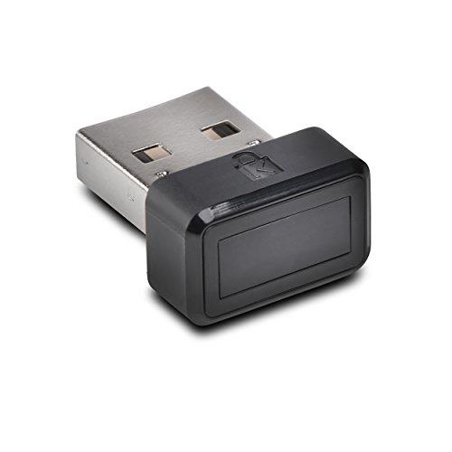 Kensington K67977WW VeriMark ultrasichere USB Fingerabdruckverschlüsselung (für Windows Anmeldung (Windows Hello) mit Zwei-Faktoren-Authentifizierung (U2F))