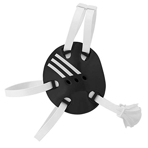 adidas Wrestling Response Protective Headgear, Black/White, Adult Size