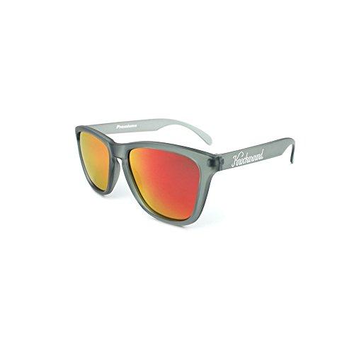 Gafas de sol Knockaround Classic Premium Frosted Grey / Red...