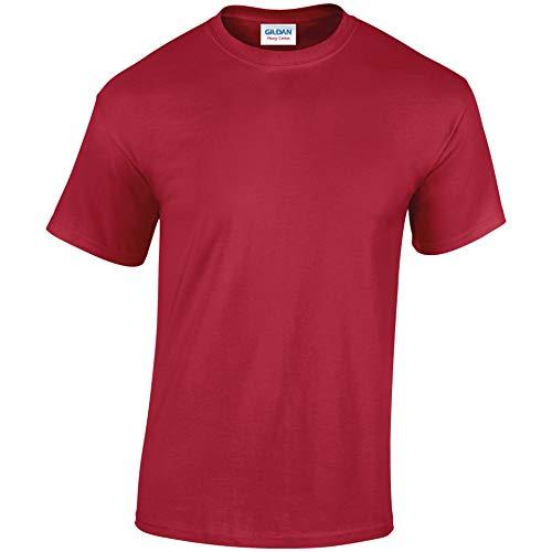 GILDANJungen T-Shirt, Cardinal Red, XS