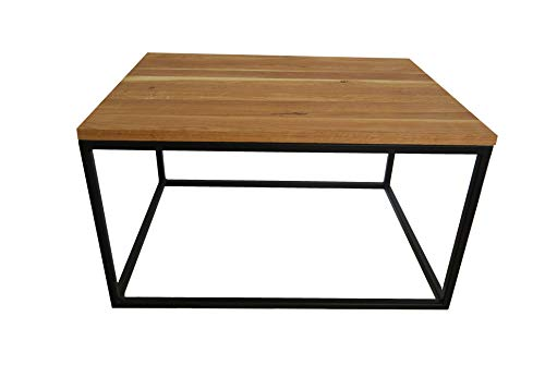 Legnoline Coffee Table Loft Industrial Oak 80x60