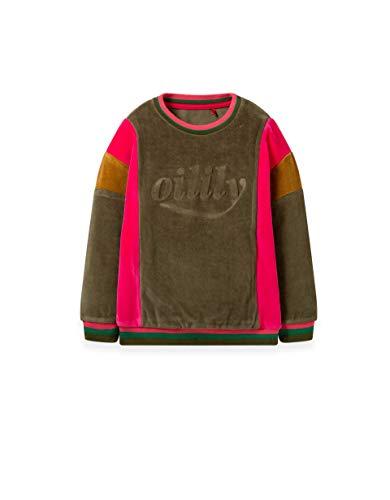 Oilily Hobbels Sweatshirt Velours Colourblock YF19GHJ206