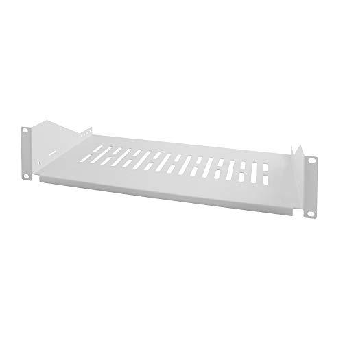 De stabiele plank kan in alle 19 inch kasten met een 482,6 mm (19