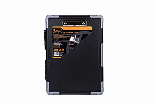 Tactix 320092 Jobsite Contractor Clipboard, Black