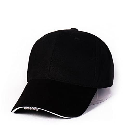 VusiElag Unisex encendidos del LED Cap Beanie Luminoso Punto Hat Cap USB Recargable Manos Libres Faro para la Mujer del Hombre, Caliente Hecha Punto del Sombrero del Invierno con Led