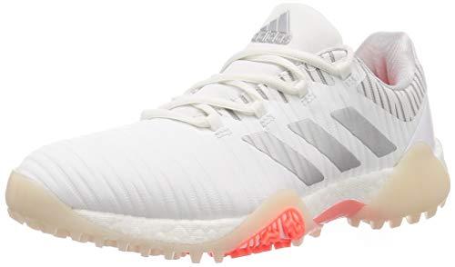 adidas Golfschuh Damen Codechaos Weiß Orange (40)