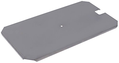 FriFri Deckel für Fritteuse ECO4, ECO4+4 Breite 173mm Höhe 7mm Länge 323mm CNS