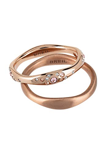 Breil Anello Donna collezione ILLUSION con pietre multiple in crystal jewellery