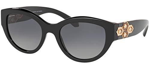 Bvlgari Gafas de Sol SERPENTEYES BV 8221B Black/Grey Shaded Mujer