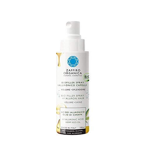 Zaffiro Organica Spray BIO FILLER para cabello con Ácido Hialurónico...