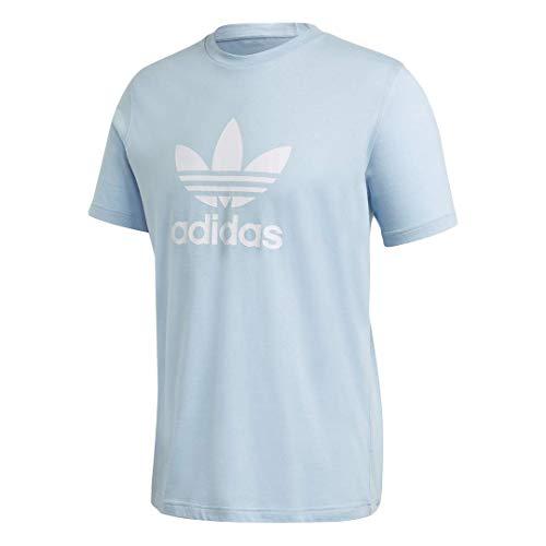 adidas Originals Men's Trefoil T-Shirt Clear Sky Large