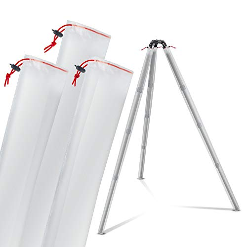 Camera Tripod Leg Protection Covers (for Regular/Large Tripods) - Waterproof/Snow-Proof/Mud-Proof Sleeves