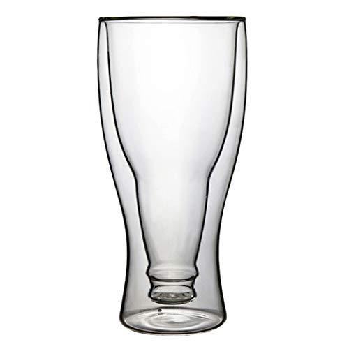 WxberG Vasos de cerveza, vasos de cerveza para una mejor retención de la cabeza, aroma y sabor, vasos de cerveza artesanales de 10 onzas para beber cerveza (tamaño: 300 ml)
