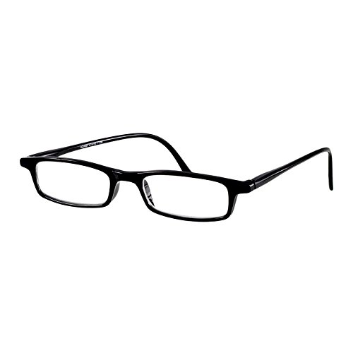 I NEED YOU Lesebrille Adam / +1.25 Dioptrien/Schwarz, 1er Pack