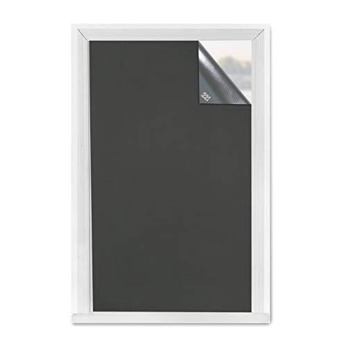Greatime 100% Blackout Blind para Ventana,Cortinas Opacas Portátiles Pegamento con 3M, Puede reflejar la luz, el Calor y Reducir el Ruido (1.5x1.85M Gris)