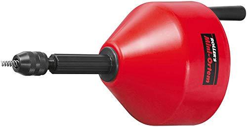 Rohrreinigungsspirale / Rohrreinigungsgerät Mini-Ortem | für Hand- und Elektroantrieb, ideal für enge Rohrbogen | für Rohre Ø 20–50 (75) mm, für Spiralen Ø 6, 8, 10 mm, Drehzahl ≤ 300 min-1
