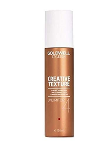 Goldwell Style Sign 4 Unlimitor Wax Spray 4.6 oz by Goldwell