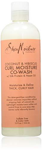 Shea Moisture Coconut & Hibiscus Co-Wash Acondicionador 354 ml/12Oz