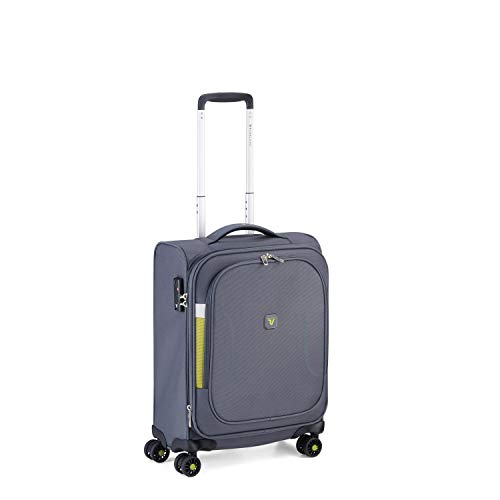 RONCATO City break Trolley morbido cabina espandibile 4 ruote Antracite tsa