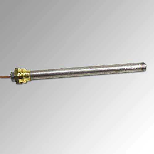 Glühzünder für Piazzetta, Wamsler, Westminster, Wodtke, Rika 280 W, 3/8 Zoll Gewinde, L = 140 mm, Ø = 10 mm