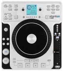 Stanton C.304 Tabletop CD Deck w/Digital Effects