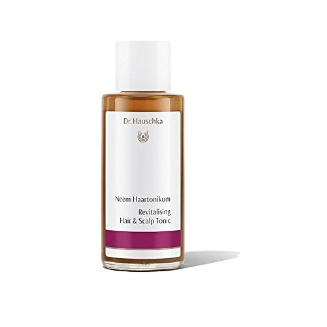 テザー別の媒染剤Dr. Hauschka Revitalising Hair And Scalp Tonic (100ml) - 髪と頭皮トニックを活性化ハウシュカ(100ミリリットル) [並行輸入品]