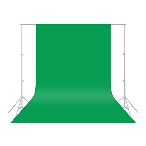 CRAPHY 背景布 緑 1.8*2.8M バックペーパー アップグレード モスリンコットン背景布 厚い 不透明なスタジオ...