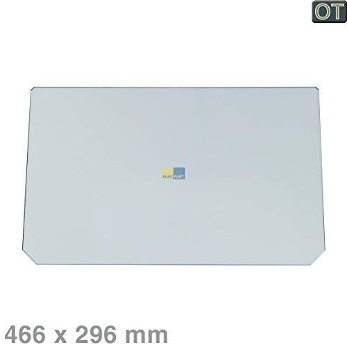 Indesit, Hotpoint, Ariston Scholtès Glasplatte, Platte, Abdeckplatte, Abdeckung Gemüsefach, Gemüsebehälter - C00280888