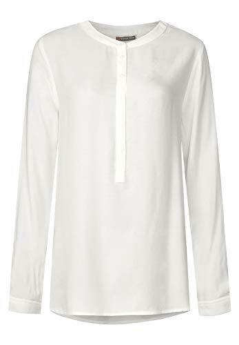 Street One Damen 341304 Bluse, Off White, 40