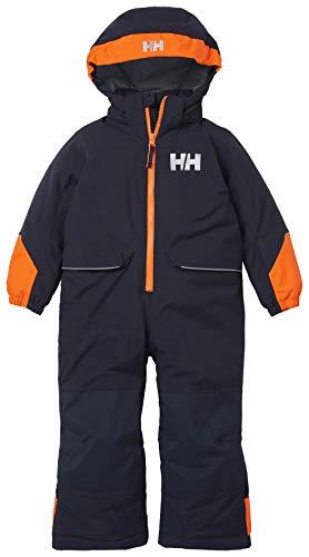 Helly Hansen Tinden Skianzug Traje de esquí, Infantil, Azul Marino, 3