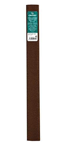 Rollo 50x250 cm, Canson Crespón Superior 48g, Marrón 🔥