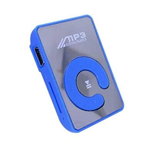 Ba30DEllylelly Lettore MP3 portatile Mini schermo LCD Lettore MP3 Supporto per lettore musicale 32 GB No Screen Mirror MP3