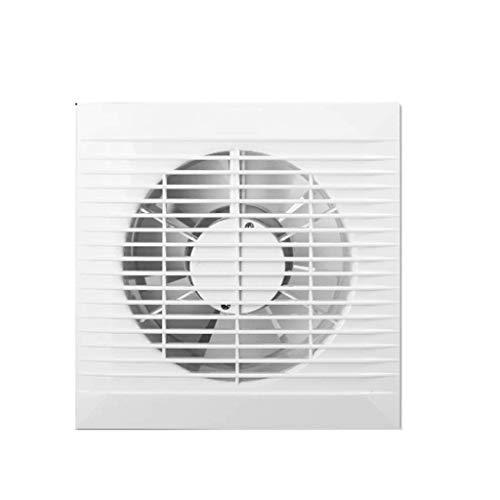 LANDUA Wandabzugshaube, leistungsstarke Mute Haushalt Ventilator, Weiß Vertikale Entladung Belüftung Lüfter