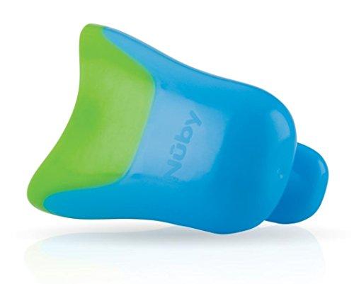 Nûby ID6138BLUE - Recipiente para aclarar el cabello, color azul y verde
