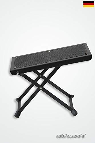 Fußbank Gitarre Fußstuhl Fußbänkchen Trittbrett Fußablage klappbar verstellbar