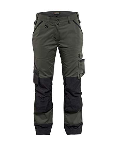 Blakläder 715418354699C36 Garten Femme Pantalon Taille C36 Militaire Vert/Noir