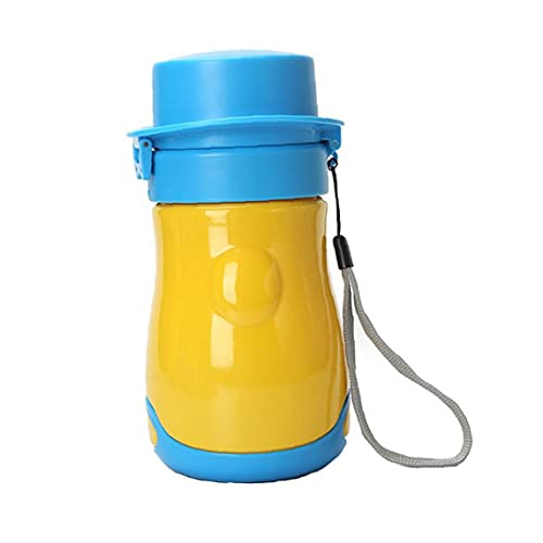 Portátil Bebé Niño Orinal Urinal Emergencia Inodoro a Prueba de fugas Reutilizable Orinal Botella para Camping Coche Viaje Amarillo 1pc
