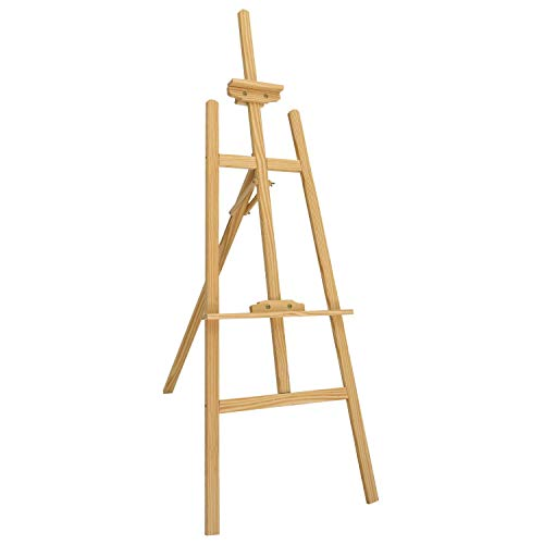 Oypla 5ft 1500mm Wooden Pine Tripod Studio Canvas Easel Art Stand