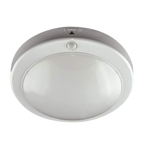 Deckenleuchte mit Bewegungsmelder 18W 4000K IP42 LOPEZ LED S Wohnzimmerleuchte Deckenlampe Deckenbeleuchtung Plafond SMD Strühm Ideus 5945