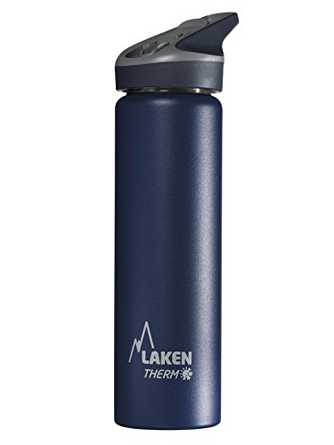Laken Botella Térmica 500 ML Azul de Acero Inoxidable 18/8 y Doble...