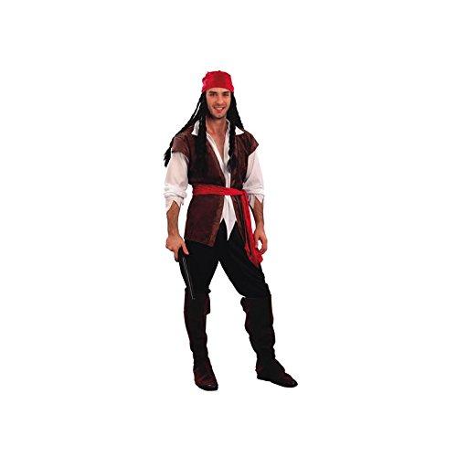 Disfraz para hombre de pirata.