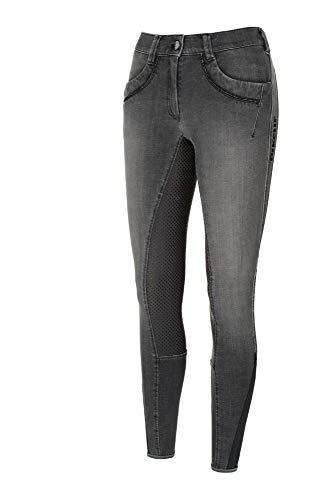 Pikeur Jeans Damen Reithose Elfa mit Grip in Denim Grey, Größe:84