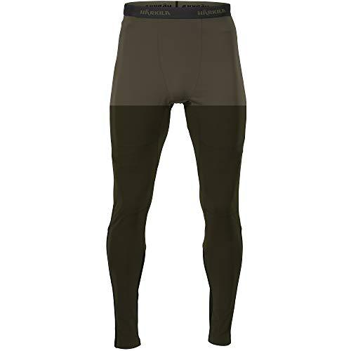 Härkila HEAT Control® Heizunterhose Herren - Beheizbare Unterwäsche beheizt Thermounterwäsche für Jagd Wandern oder Skifahren - Unterhose für niedrige Temperaturen, Größe:XL