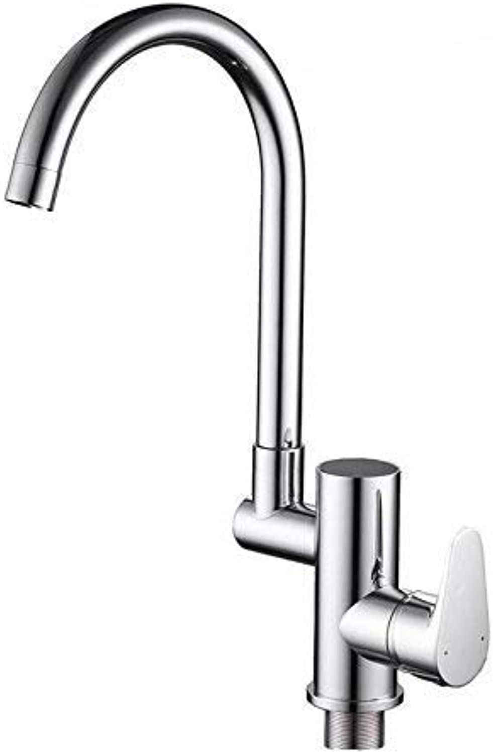 Oudan Taps 360 Swivel Kitchen Faucet Kitchen Faucet Water Power Sink Mixer Brass Chrome Plated Tap Taps (color   -, Size   -)