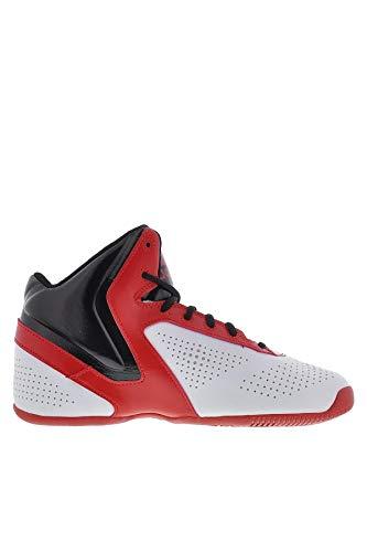 adidas - Zapatillas de baloncesto para hombre - Multicolore, Blanco (blanco), 39 1/3