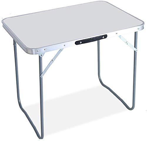 Klapptisch Tragbarer Multifunktionsklapptisch Night Market Outdoor Travel Camping Tisch (Farbe: Weiß Größe: 80x60x68cm)