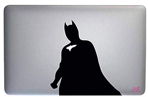 Artstickers. Pegatina para portatil de 15' y 17' Pulgadas. Diseño Batman. Adhesivo para Apple MacBook Pro Air Mac Portátil. Color Negro. Regalo Spilart, Marca Registrada